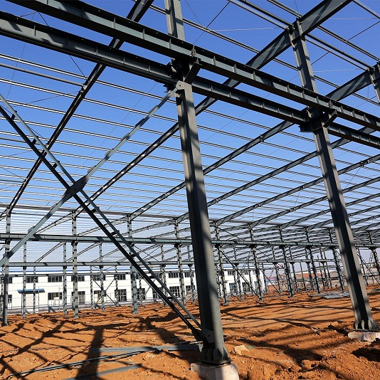 Industrial Construction structure design steel structure