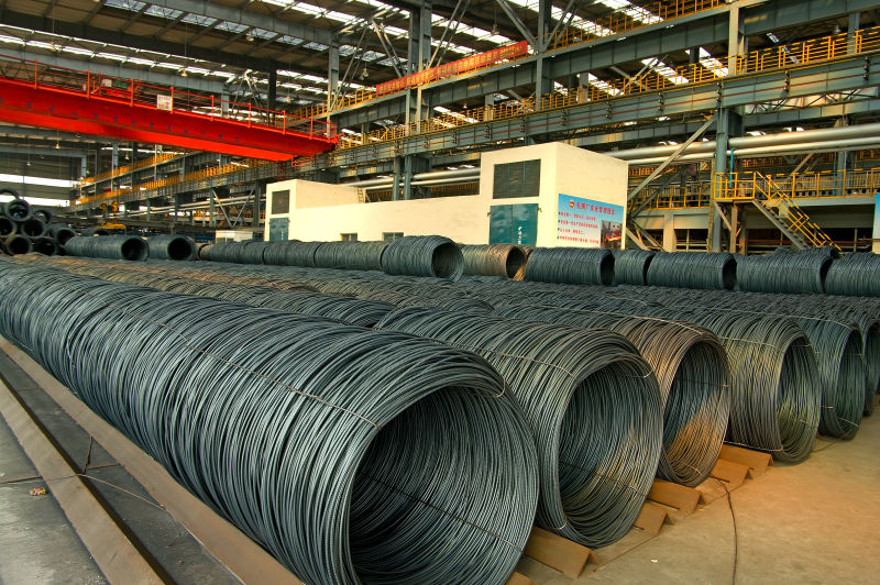 steel wire rod in bulk at Camasteel