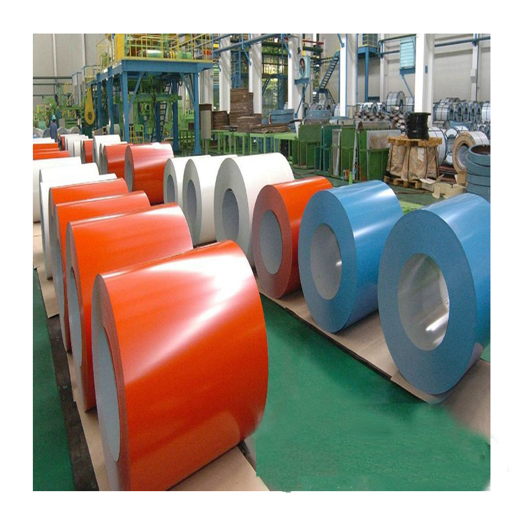 pre painted galvanized steel produced at Camasteel