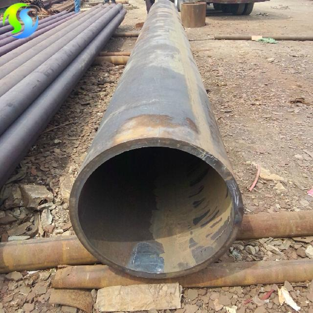 seamless steel pipe in use