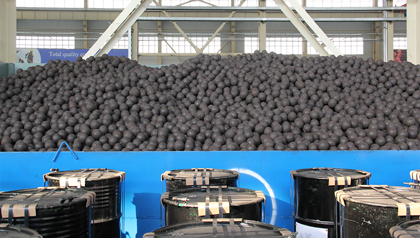 Steel Grinding Balls at Camasteel