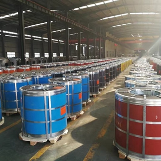 Pre-Painted Galvanized Iron or PPGI is ready to ship out in bulk to customers worldwide